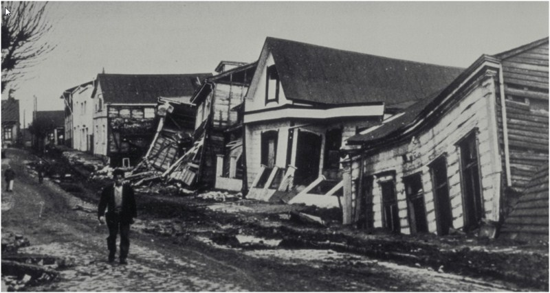 Chilean 1960 Earthquake Damage