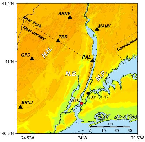 NYC Seismic Stations